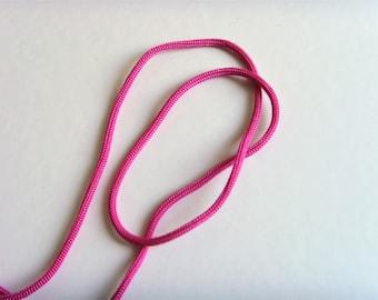 5 m cord 3mm pink Nylon thread.