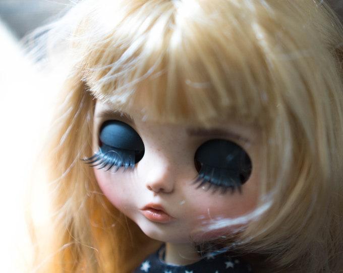 Blythe custom doll Gold hair