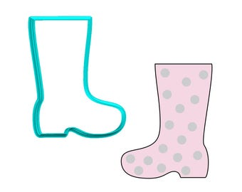 Boot - Rain Boot Cookie Cutter
