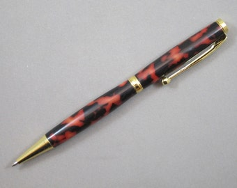 Tiger Patterned Acrylic Pen  (42)