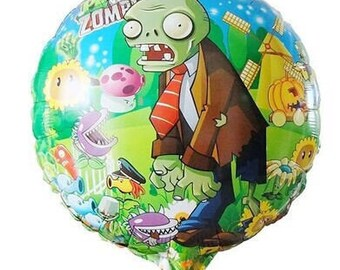 Plants vs zombies balloon
