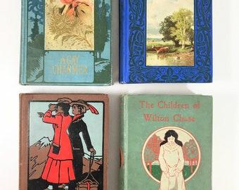 decorative books,  victorian books, art Nouveau books, gay 90s, paris, london
