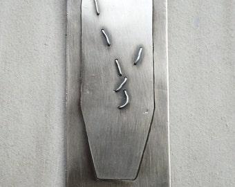 Silver Bookmark, sterling silver bookmark, personalized bookmarke, minimon bookmark