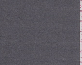 Steel Grey Polyester Knit, Fabric By The Yard