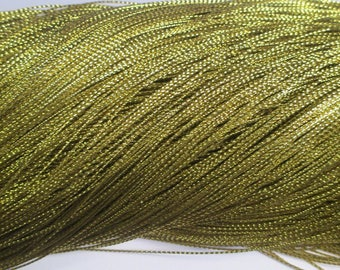 20 m braided gold wire 0.8 mm