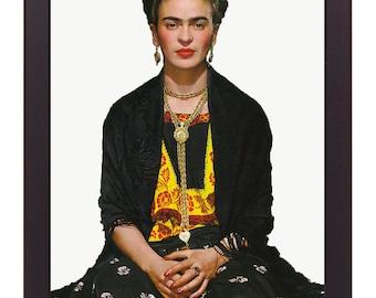 Frida Kahlo Print, Frida Kahlo Poster Frida Kahlo Art