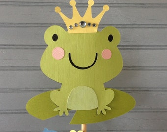 Prince Charming Baby Shower Centerpiece