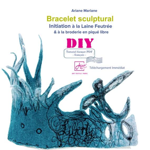 DIY: Initiation à la laine feutrée-Tutoriel en langue francaise