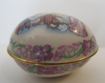Vintage Lenox Victorian Easter Egg 1989