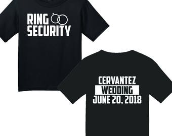 Customizable Ring Security Youth Shirt