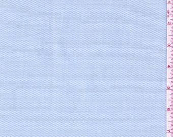 "60"" Light Blue Cotton Pique Fabric-15 Yards Wholesale By The Bolt (PK0060)"