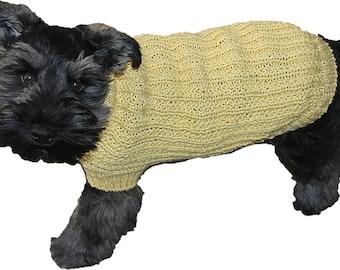 Farrow Rib Dog Sweater Pattern