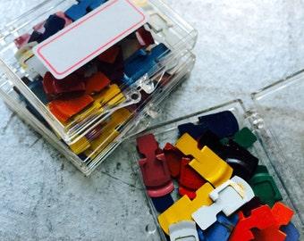 50pcs VINTAGE PAPER CLIPS Retro Office Supplies