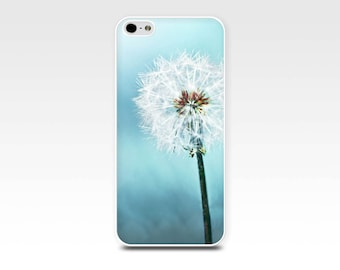 dandelion iphone case 5s iphone 6 case 4s floral iphone case 4 5 photography iphone case 4 iphone 5 case pastel blue girly fine iphone case
