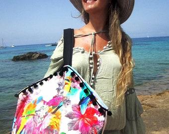 Beach bag, weekend, SacCabas bag, Shopping Bag, travel bag