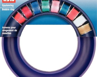 Prym Bobbin Ring - Holds 20 Sewing Machine Bobbins - Craft Storage 611978 Gift