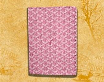 Goyard Passport Case Pink Goyard Passport Cover Goyard Passport Holder Leather Pass Cover Goyard Passport Holder Travel Passport case
