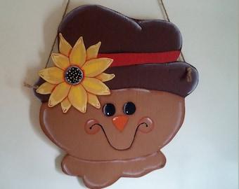 Scarecrow/door or wall hanger