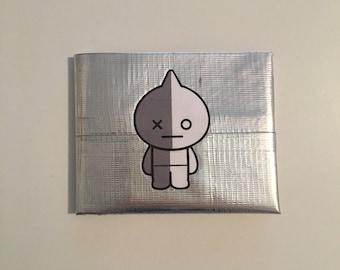 BT21 Van Duck Tape Wallet