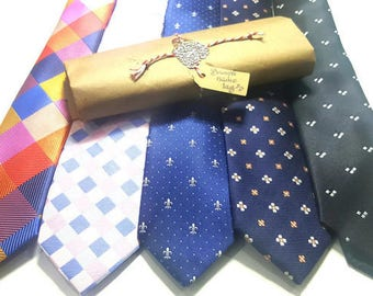 Bestselling Skinny Ties #9 Gift Packages for men with Wax Seal & Hand Written Calligraphy. Great for Office Gifts .Fast shipping from US