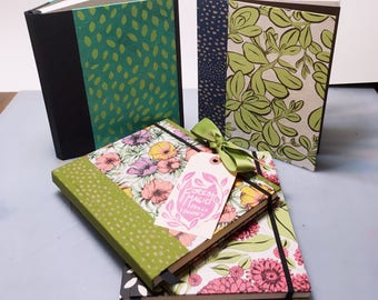 DIY Sketchbook // You Choose, I Bind // Hardcover Sketchbook // Handmade Journal // Gifts for Artists