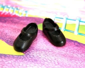 Blythe Black Cute Mary Jane shoes