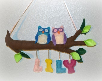 Made to Order Owls Mobile