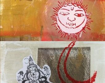 Reflectjen® Mantra Journals   Brother Sun, Sister Moon