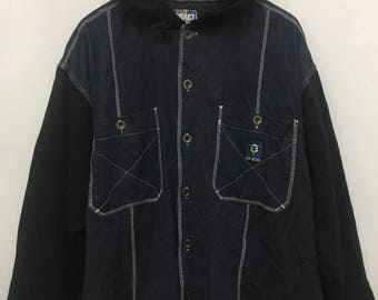 Pract Sweater Hoodie Button Up