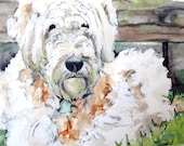 Dog Painting - Print from...