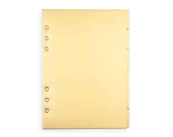 Planner Divider Set | Gold