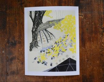 Leap Of Faith. A fine art giclee print.