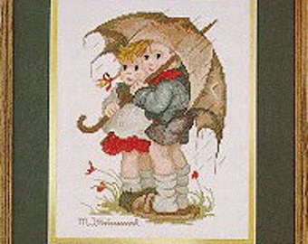 Embroidery kit Hummel Stormy Weather