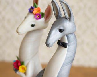 Llama Wedding Cake Topper by Bonjour Poupette