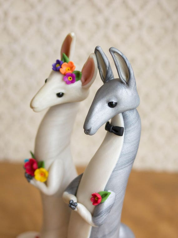 Llama Wedding Cake Topper by Bonjour Poupette
