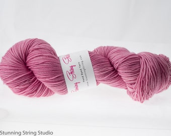 Cherry Blossom - Luxury Fingering Weight - Merino, Cashmere & Nylon - 100 g - 425 yds