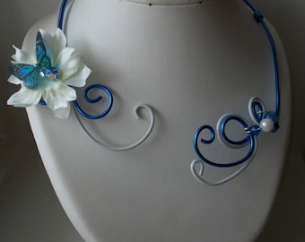 Gorgeous, ceremony necklace, original and handmade.