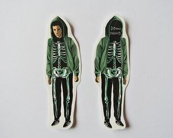Donnie Darko 2 stickers
