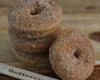 Browned Butter Churro Donuts