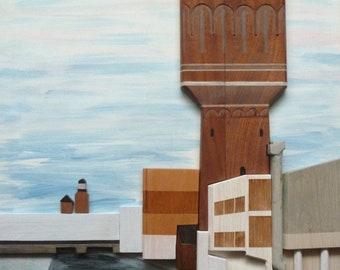 Water tower in Utrecht