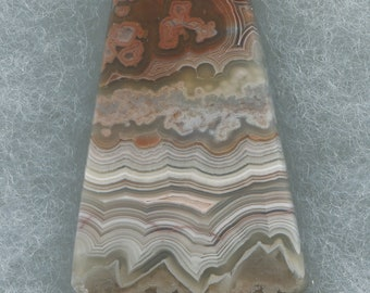 Laguna Lace Agate Designer Cabocvhon from Mexico