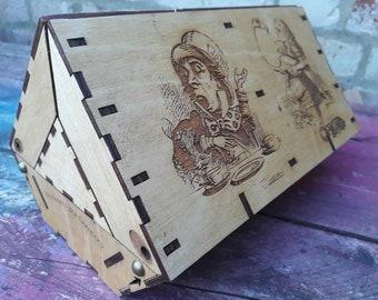 boat box - Alice In Wonderland
