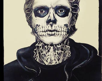 Paper Portrait Tate by American Horror Story