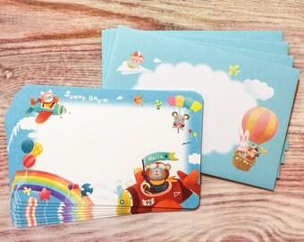 Sky Animals Letter Set - Fancy Stationery
