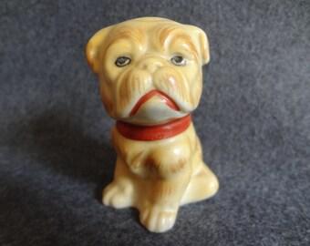 Bull dog salt shaker