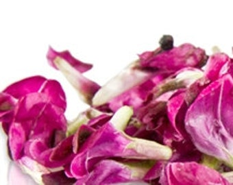 100 + Organic, MINIATURE FAVA, Edible Flowers, Bulk, Rose Petals, Candied, Pansys, Wedding Cakes, Purples, Magenta, Large Orders Only