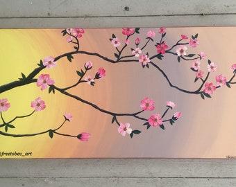Cherry Blossom Original Painting