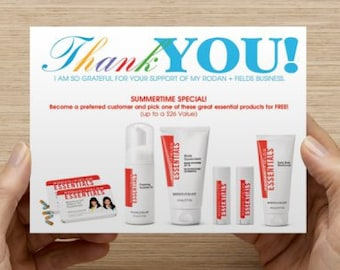 Free Gift Postcard (Rodan and Fields) INSTANT DOWNLOAD