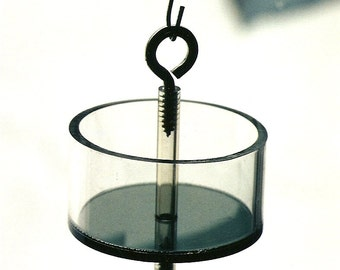 AT-41 Ant Trap- Naturally Stops Ants from Eating on Your Nectar and Fruit Bird Feeders