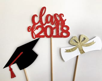 Custom Graduation Cake Toppers